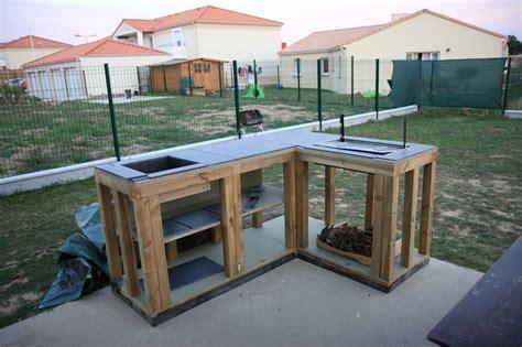 fabriquer cuisine exterieure cuisine extérieure 15 09 2010 notre maison ossature bois