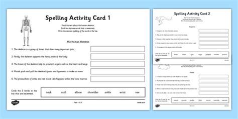 australia year 3 spelling mistake activity cards australia year 3