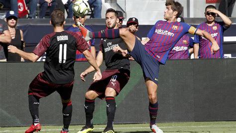 Fechas y horarios de las 4 primeras jornadas de Liga del Barça