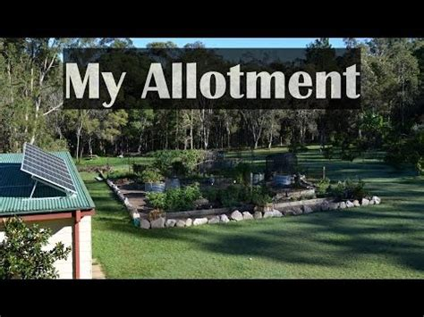 Self Sufficient Backyard by S Allotment Garden Vegetables Raised Beds Self
