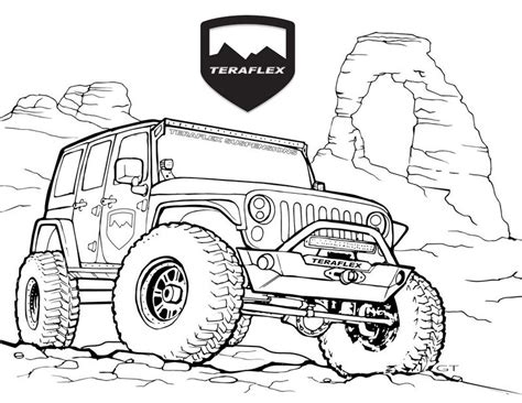 printable ford raptor coloring pages lautigamu
