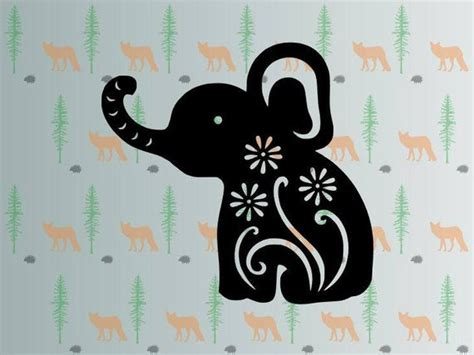 Claim your free download by using code: cute elephant svg flower elephant svg files for cricut