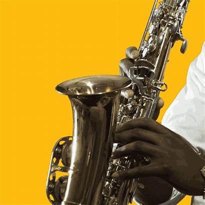Saxophone Animated Gifs Dibango Manu Jazz Cannon