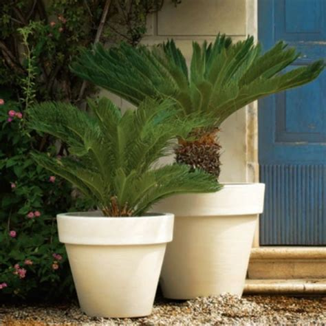 garden pots and planters bordato classic outdoor garden planter outdoor pots and planters chicago by home infatuation