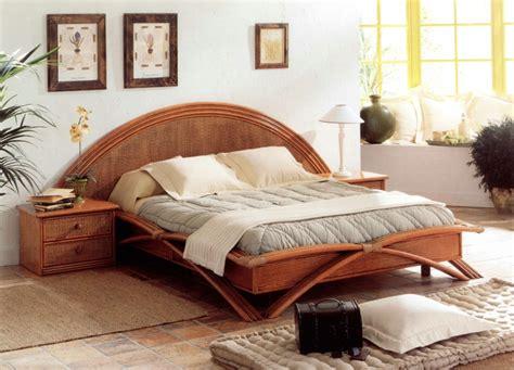 chambre en osier meubles en rotin pour la chambre