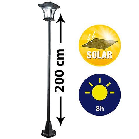 Lade Da Giardino A Energia Solare Prezzi by Lione Da Giardino Con 4 Led Ad Energia Solare 200x21cm