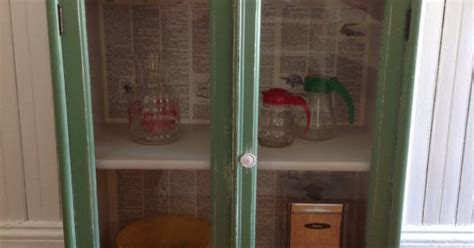 glass in kitchen cabinets vintage green cabinet american farmhouse wood glass doors 3783