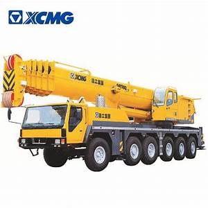 China 2017 Xcmg Factory Famous 160 Ton Used All Terrain