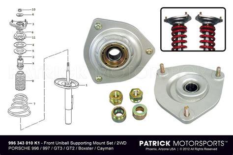 porsche cayman sales monoball camber plate set 2wd 996 gt2 boxster