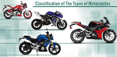 How To Classify The Types Of Motorcycles