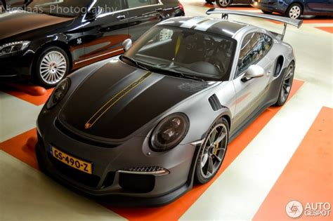 porsche  gt rs spotted  cool livery dpccars