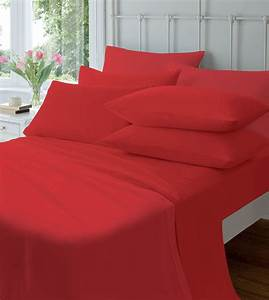Extra Deep Flannelette Fitted Sheets, Warm Soft Brushed ...