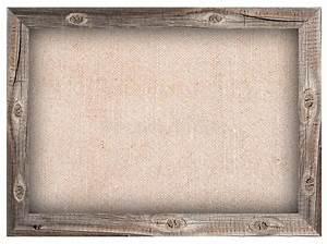 Cadre En Toile : vieux cadre en bois avec le fond de toile de jute image stock image du normal tissu 59201473 ~ Teatrodelosmanantiales.com Idées de Décoration