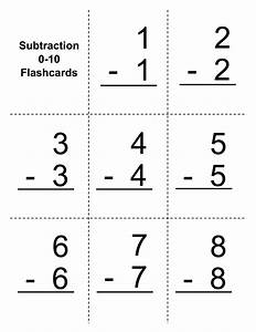 Subtraction Flash Cards Pdf - popflyboys