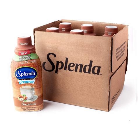 Water is the perfect drink. Splenda Hazelnut Coffee Creamer | No Sugar. No Corn Syrup. Only 15 Calories Per Serving!