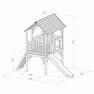 Haus Online Entwerfen : kinder spielturm holz hohes offenes stelzen spielhaus ~ Articles-book.com Haus und Dekorationen