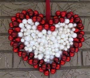 diy ornament wreath heart wreath for valentine s day decoration youtube