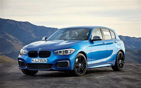 Download Wallpapers Bmw M140i, 2018, German Cars, Blue M1