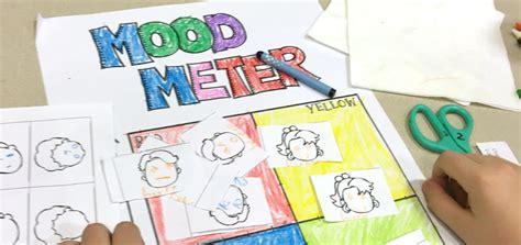 woodridge families come together for social emotional 781   Woodridge Mood Meter