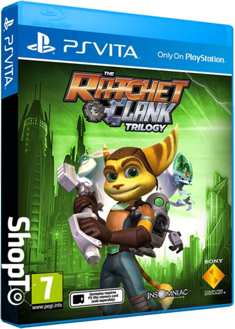 ratchet  clank trilogy listed  ps vita