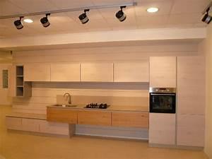 cucina arrex 1 zenzero moderna legno rovere chiaro With cucine arrex zenzero