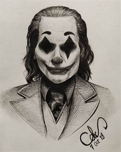 Joker Drawings Drawing Sketch Pencil Sketches Dessin