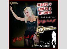 Giglian ospite al Bulli & Pupe Sexy Disco di Brescia!