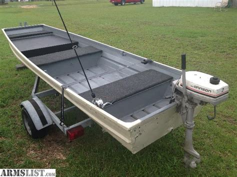 12 Ft Lowe Jon Boat For Sale by Armslist For Trade 12ft Jon Boat Trailer 2hp Johnson