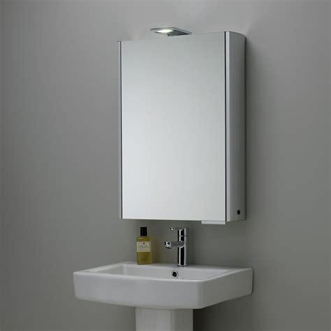Sided Mirror Bathroom Cabinet by Roper Fever Illuminated Single Bathroom Cabinet