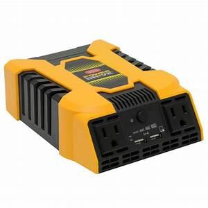 Powerdrive 300 Watt Dc To Ac Power Inverter With 12v