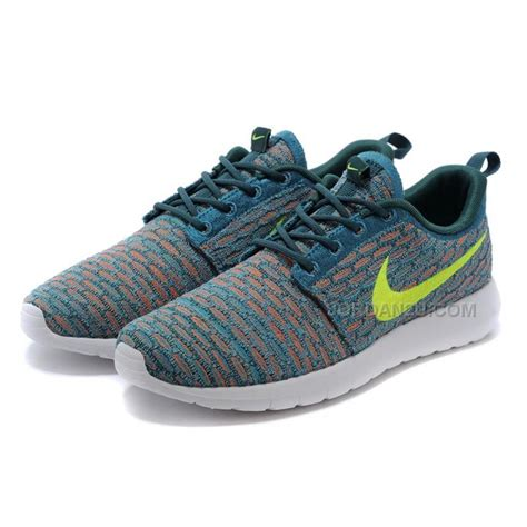 Harga Nike Roshe Run womens nike flyknit roshe run shoes green white volt