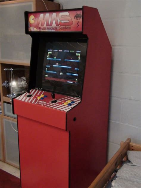 build arcade cabinet with pc build an arcade cabinet for 200euro 250