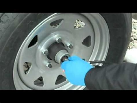 Boat Trailer Wheel Bearing Inspection by How To Lube Ez Lube Bearings On A Cargo Trailer