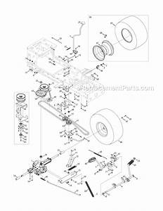 Troy Bilt Super Bronco Mower Drive Belt Diagram