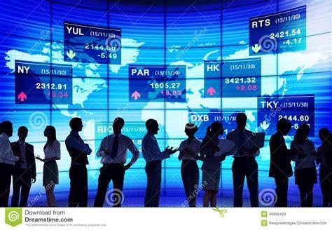 Stock Exchange Market Trading Concepts Stock Photo Image