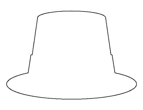 Leprechaun Hat Template Printable by Leprechaun Hat Pattern Use The Printable Outline For