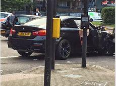 Speeding BMW M4 and 2 Series Crash in London autoevolution