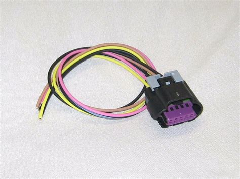 Gm Maf Wiring by Gm Mass Air Flow Sensor Connector Pigtail 99 09 5wire Maf