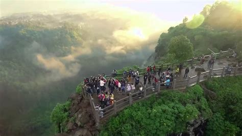tebing keraton aerial  family travel indonesia youtube