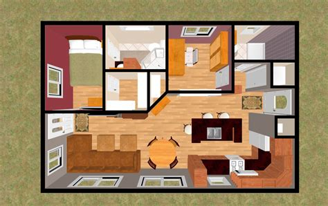 top tiny houses floor plans cottage house plans