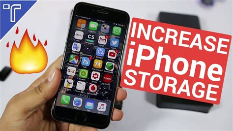 increase storage on iphone how to increase iphone storage memory