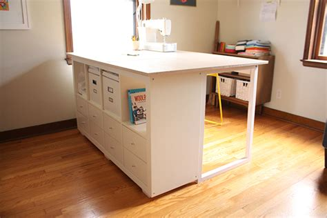 Ikea Linnmon Corner Desk by Sewing Table The Stockholm Seamstress