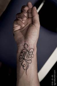 Calligraphy N by MxM.   tattoajes   Pinterest ...