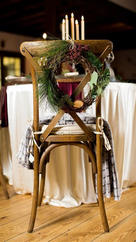 awesome festive christmas theme winter wedding ideas