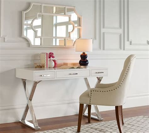 pottery barn desk desk with drawers pottery barn