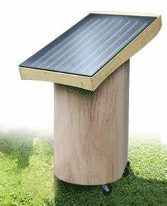 Solarthermie Selber Bauen : solar warmwasser im garten f r gartendusche almh tte mit dem alm und gartenwichtel ~ Whattoseeinmadrid.com Haus und Dekorationen