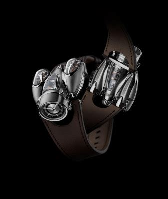 the horological machine 9 puts a rocket on your wrist
