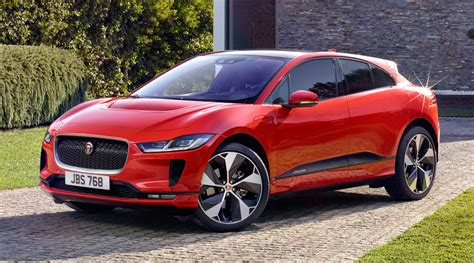 2019 Jaguar Ipace Revealed First Electric Jag Suv