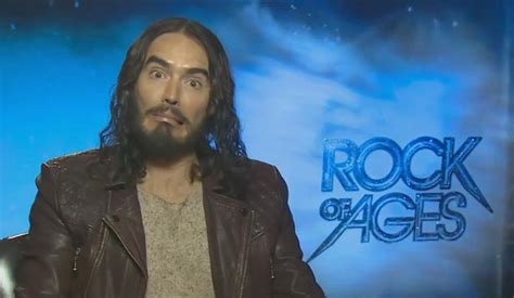 russell brand rock of ages funny russell brand interview for rock of ages