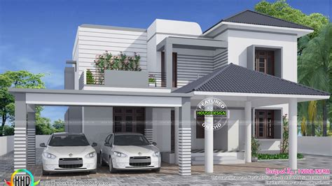 house designs simple and modern house kerala home design and